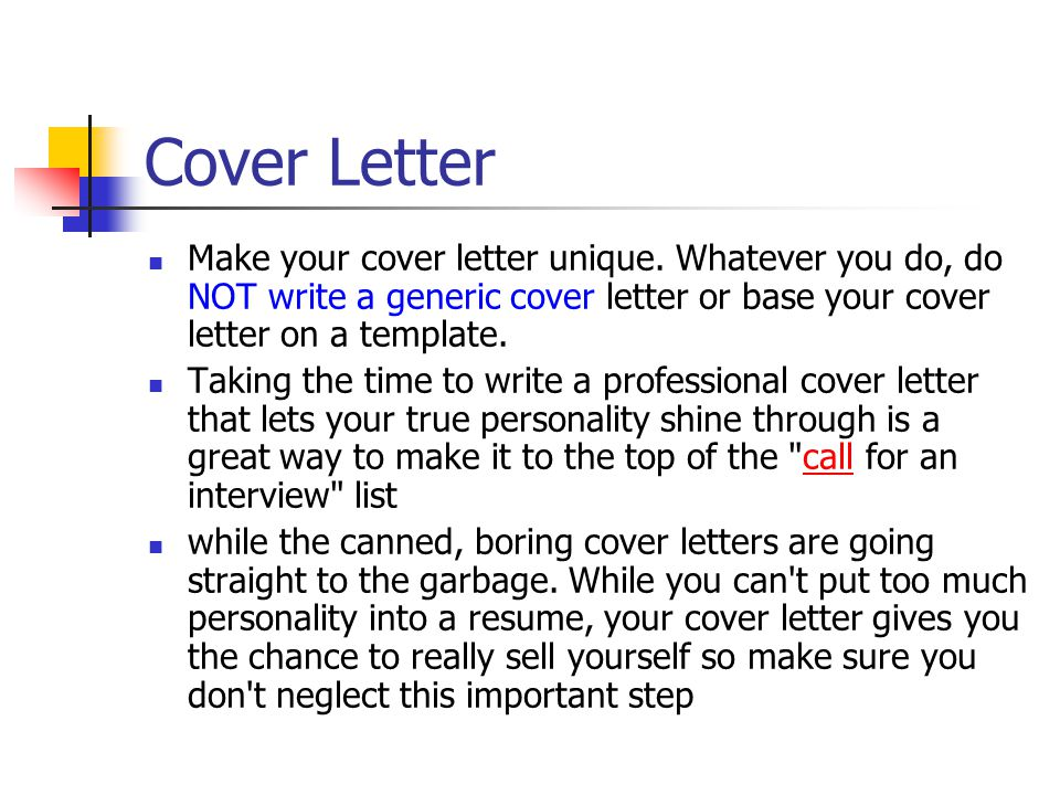 what not to put in a cover letter - what is next in your future ppt download