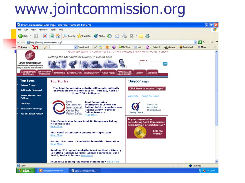 www.jointcommission.org