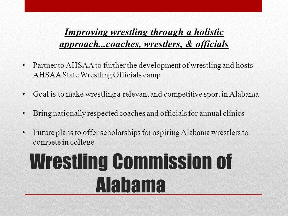 Wrestling Commission of Alabama