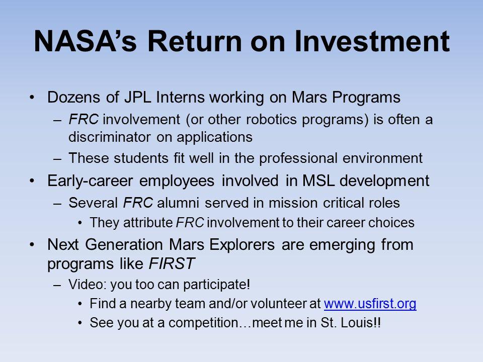 NASA's Return on Investment