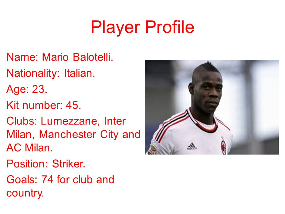 Player Profile