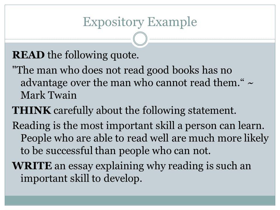 Expository Example