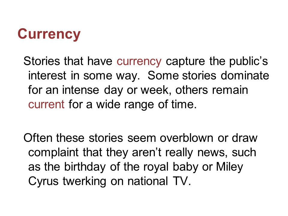 Currency Other current topics are those that come up over and over again, such as: Partisanship in government.