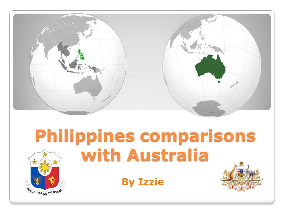 Philippines comparisons with Australia