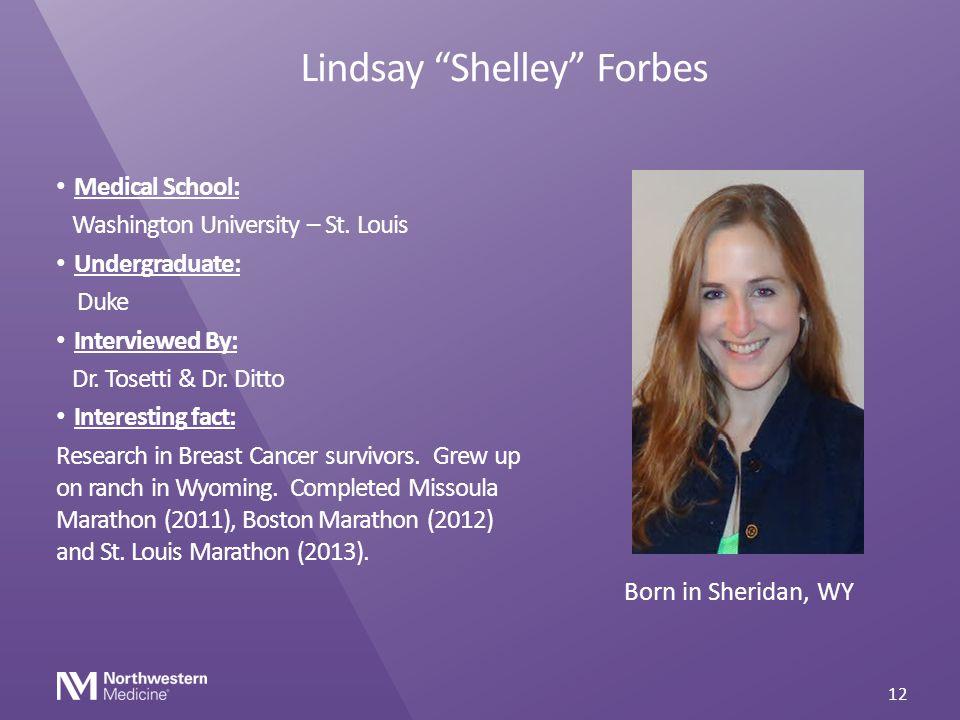 Lindsay Shelley Forbes