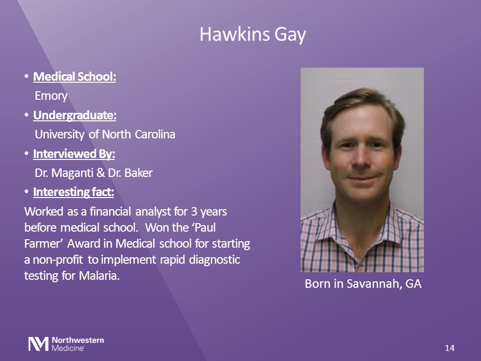 Hawkins Gay Medical School: Emory Undergraduate:
