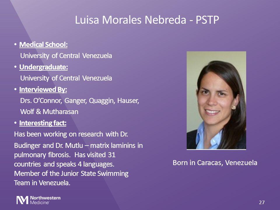 Luisa Morales Nebreda - PSTP