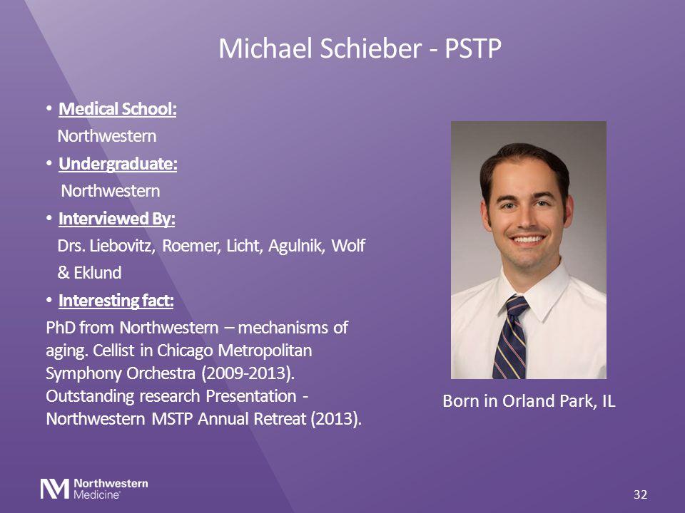 Michael Schieber - PSTP