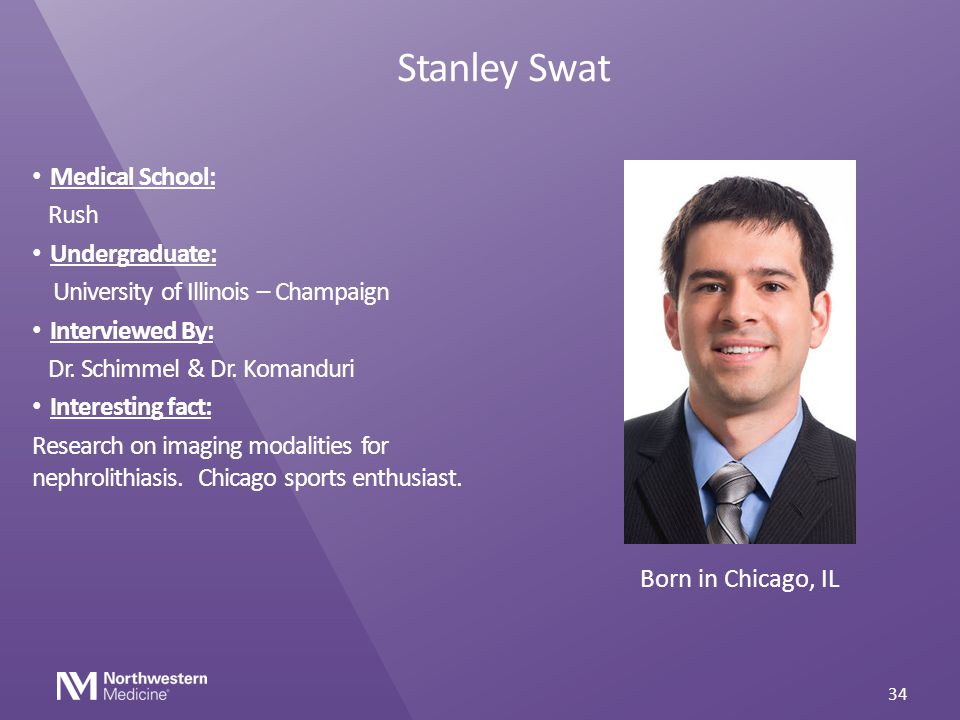 Stanley Swat Medical School: Rush Undergraduate: