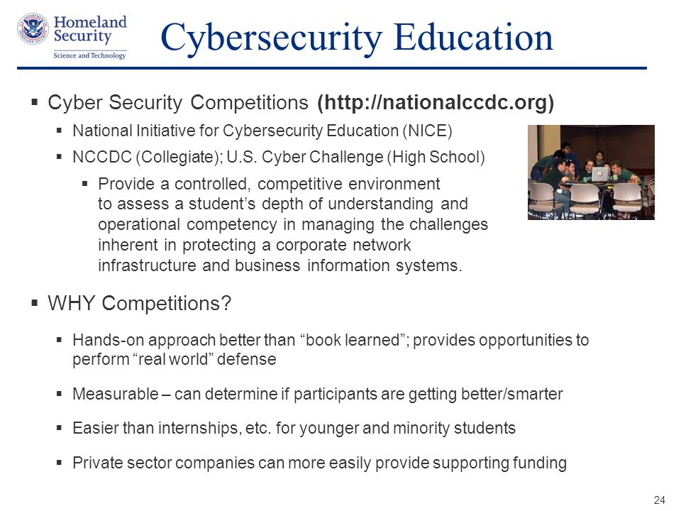 Cybersecurity Education