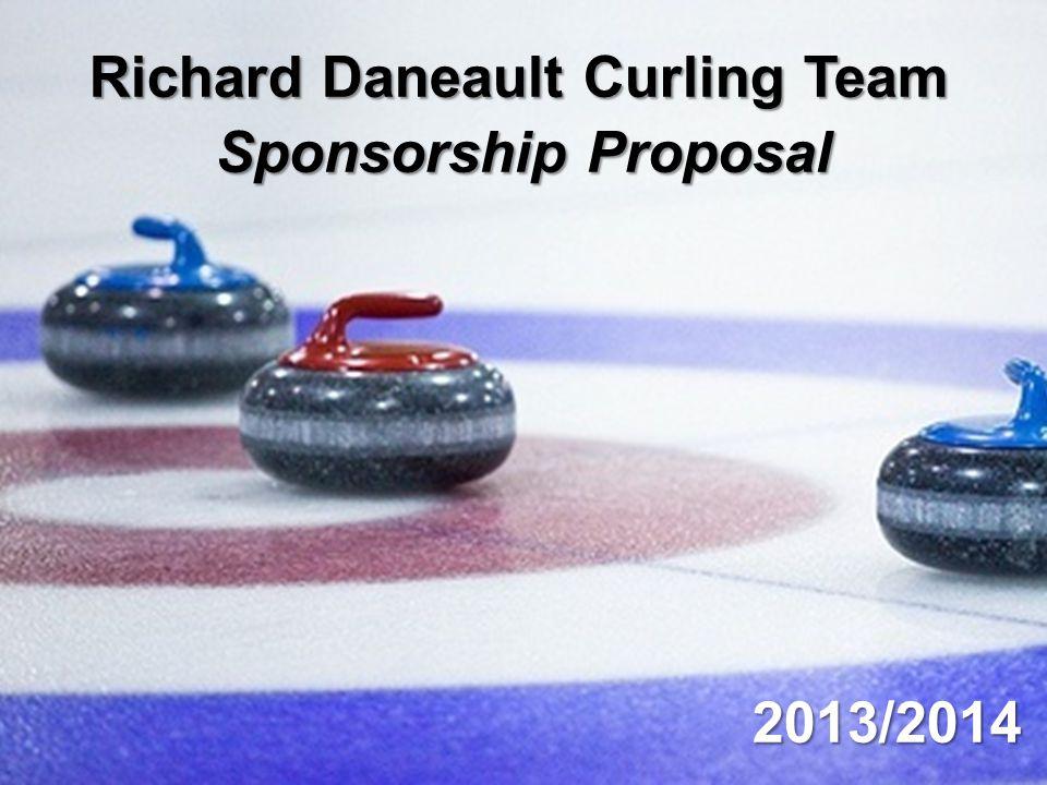 Richard Daneault Curling Team