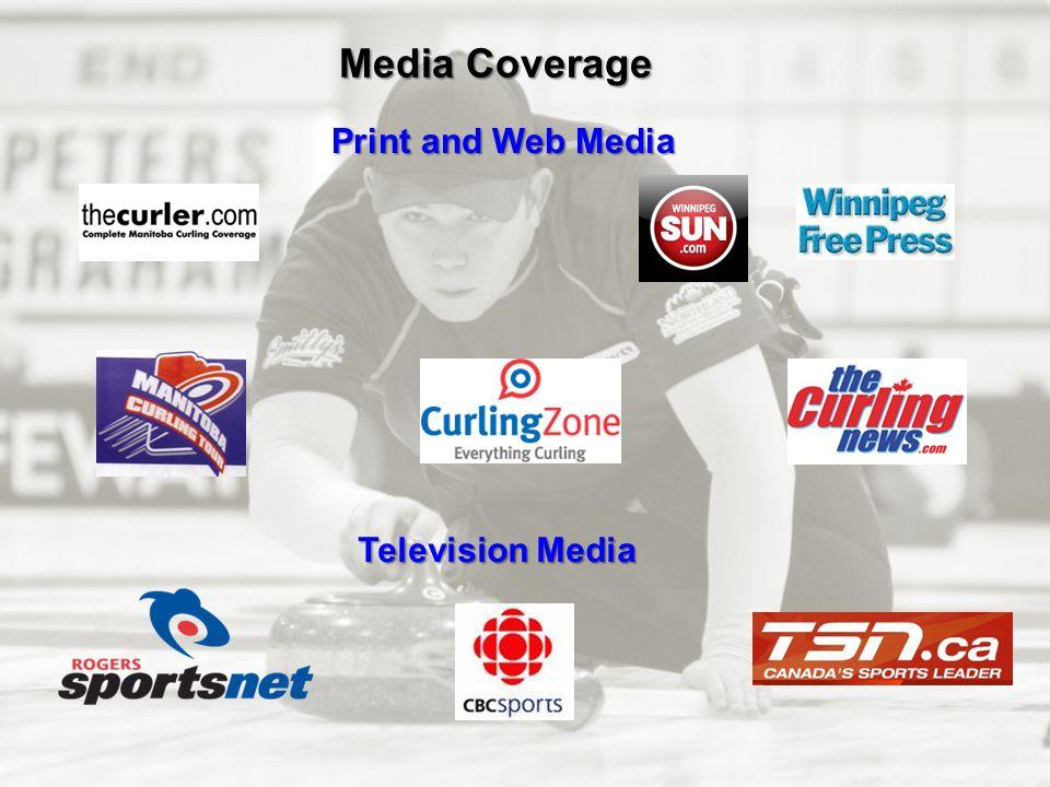 Media Coverage Print and Web Media Television Media