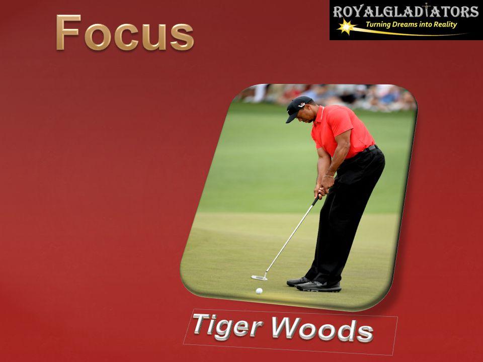 Focus Tiger Woods