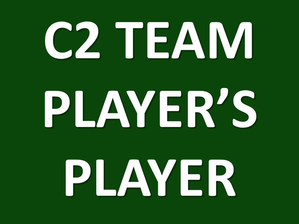 C2 TEAM PLAYER'S PLAYER