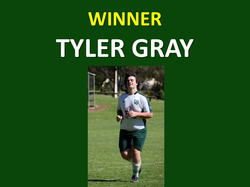 WINNER TYLER GRAY