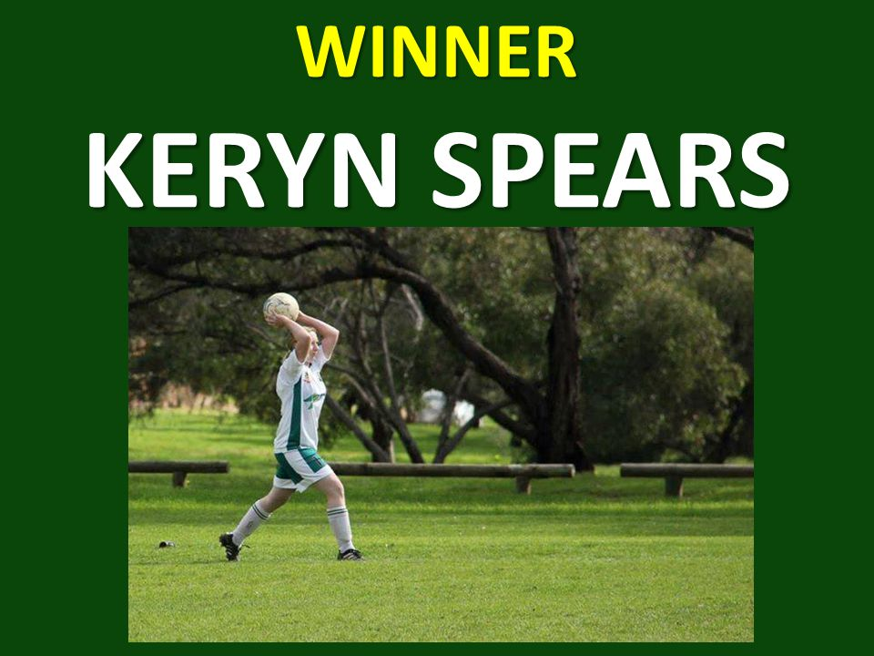 WINNER KERYN SPEARS