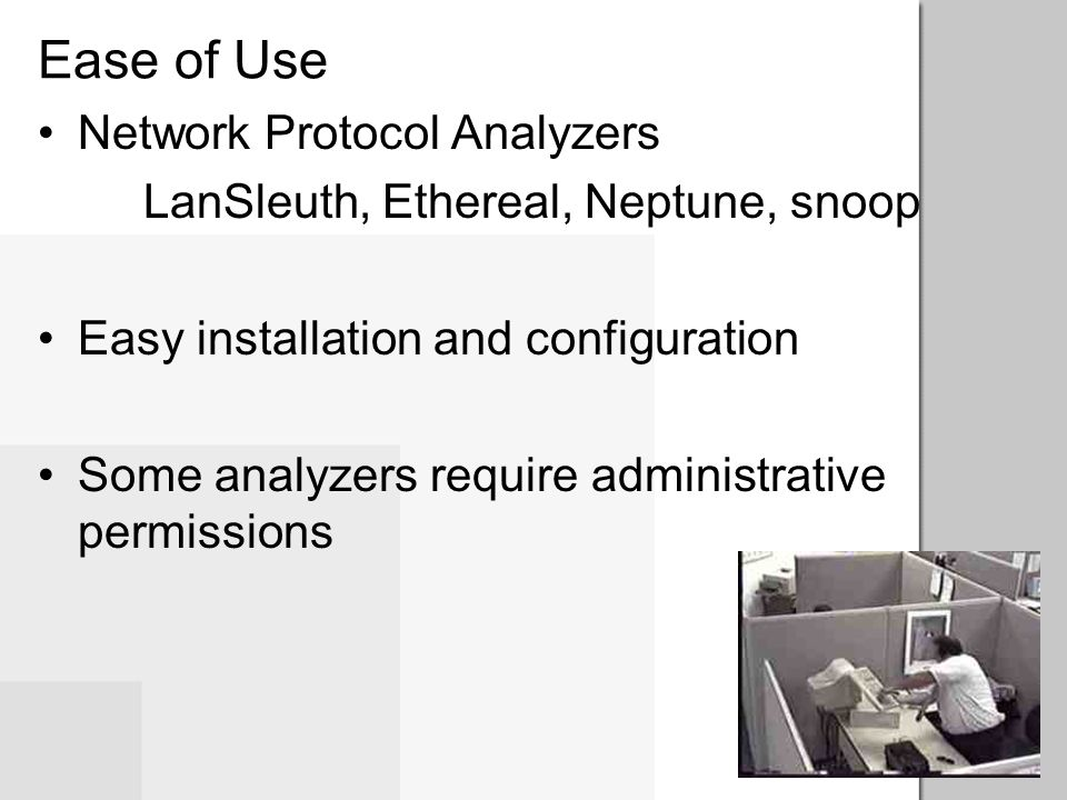 Ease of Use Network Protocol Analyzers