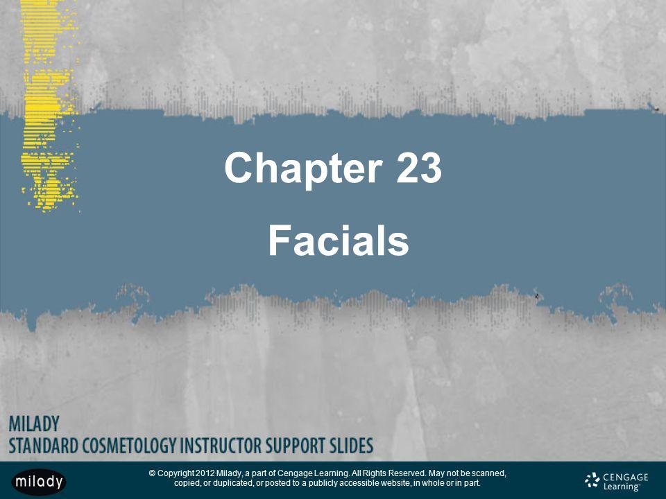 Chapter 23 Facials
