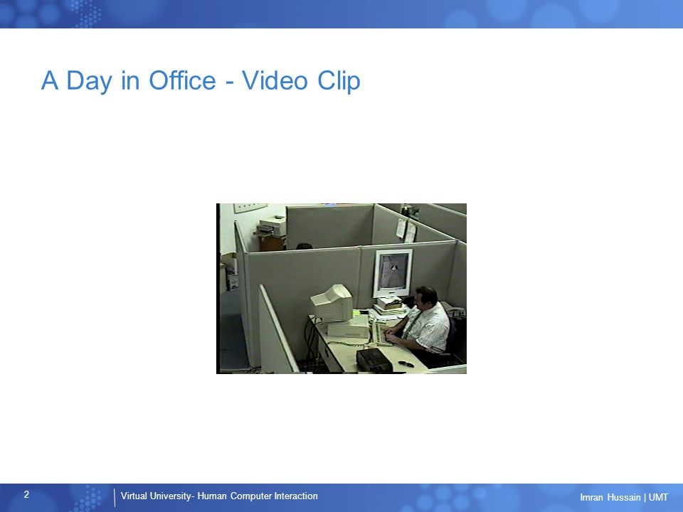 A Day in Office - Video Clip