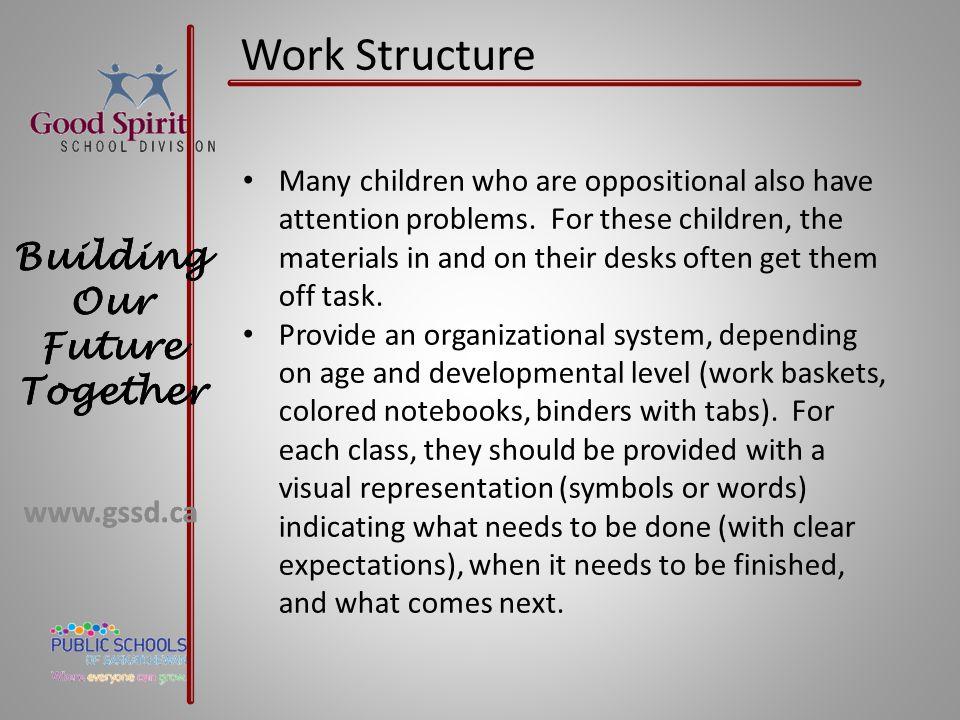 Work Structure