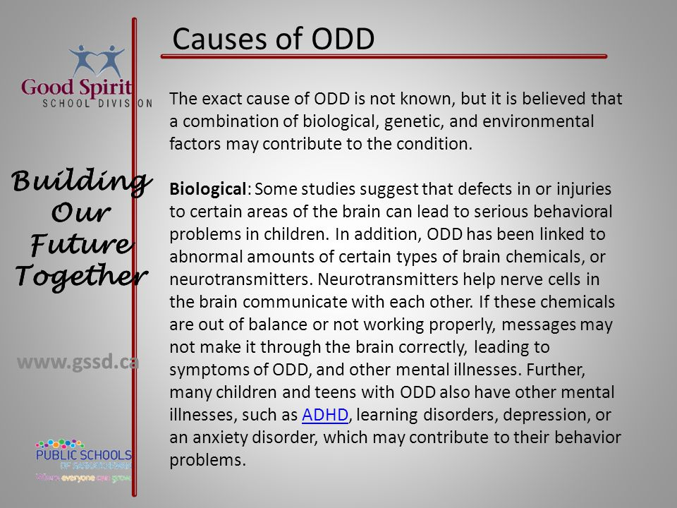 Causes of ODD