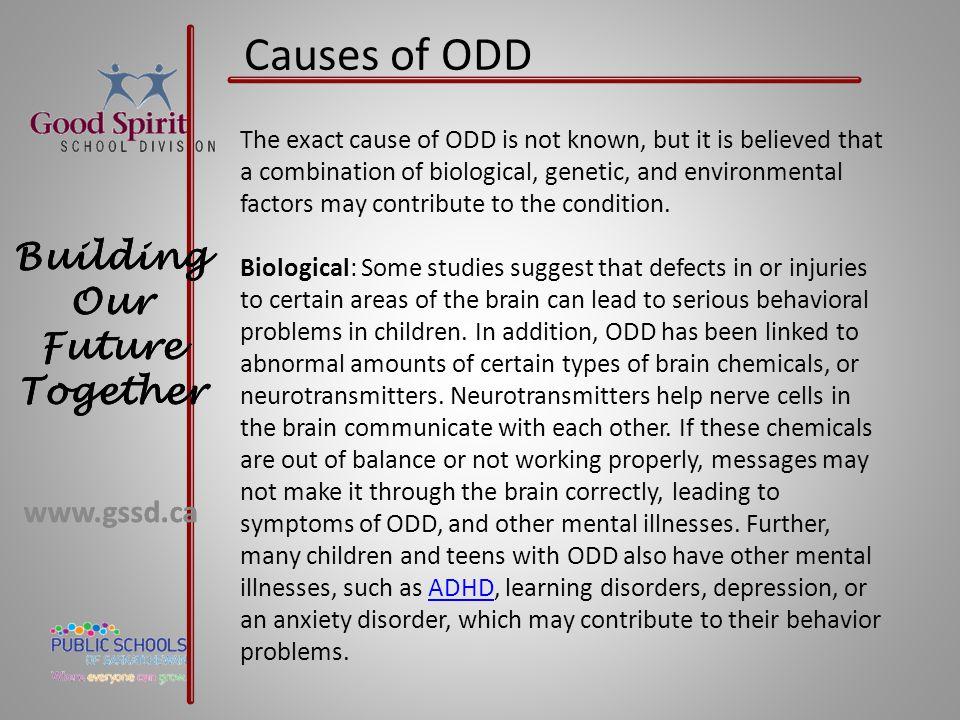 Causes of ODD