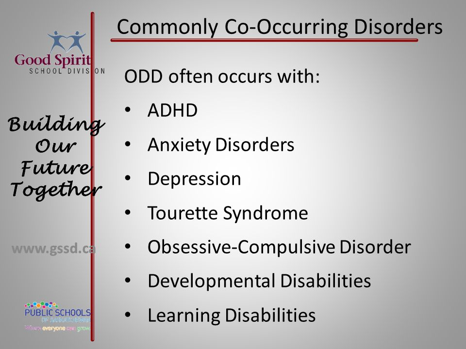 Commonly Co-Occurring Disorders