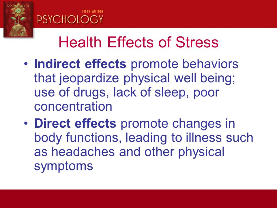 Health Effects of Stress