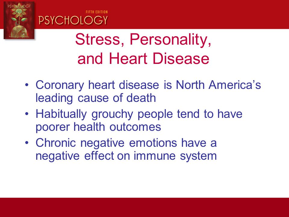 Stress, Personality, and Heart Disease