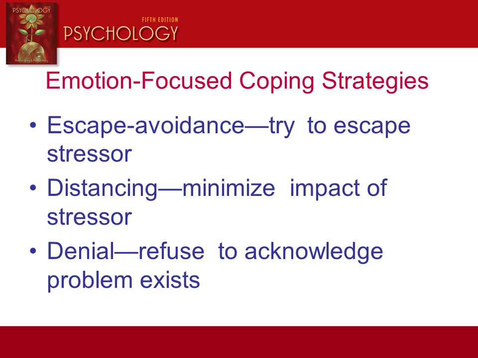 Emotion-Focused Coping Strategies