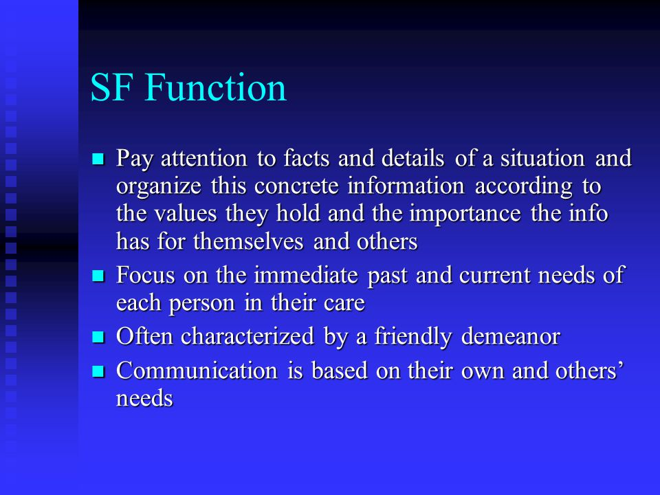 SF Function