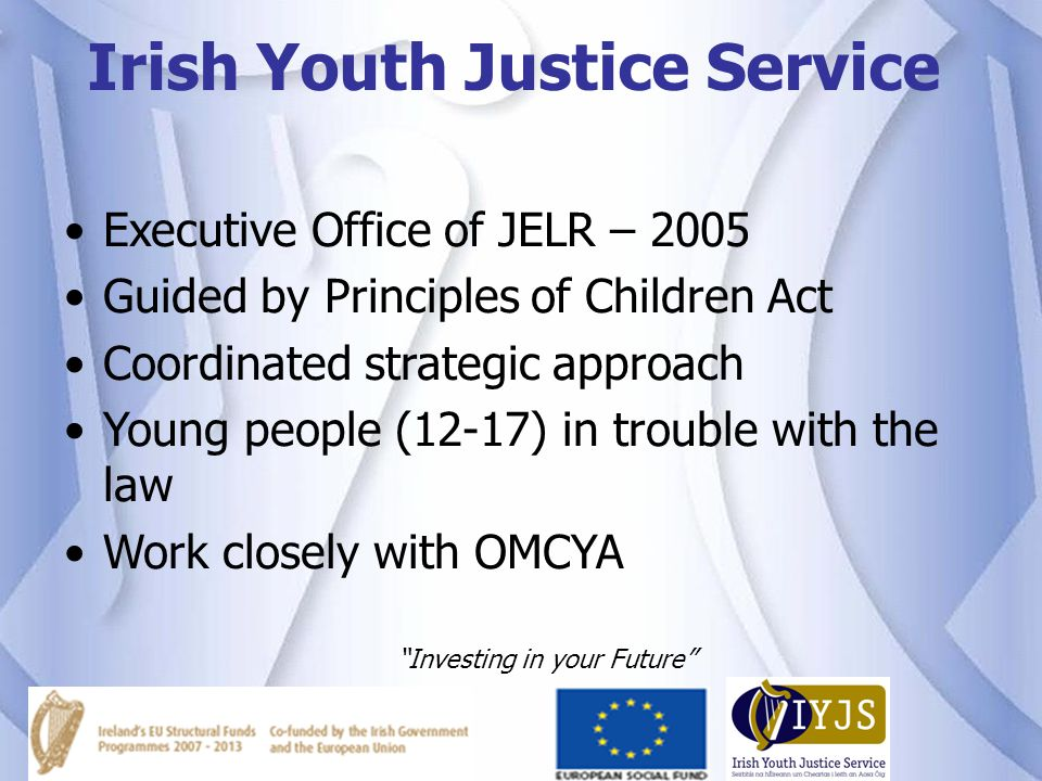 Irish Youth Justice Service
