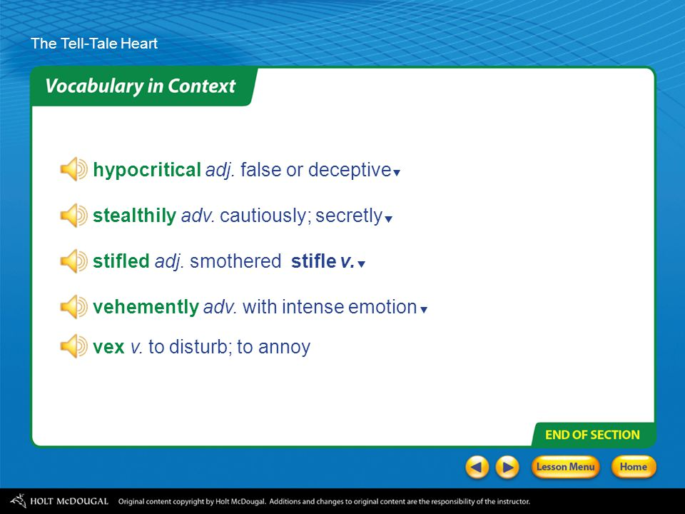 hypocritical adj. false or deceptive