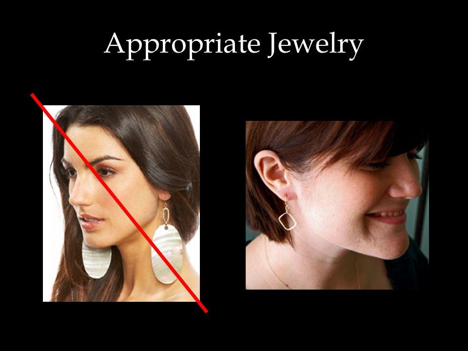Appropriate Jewelry