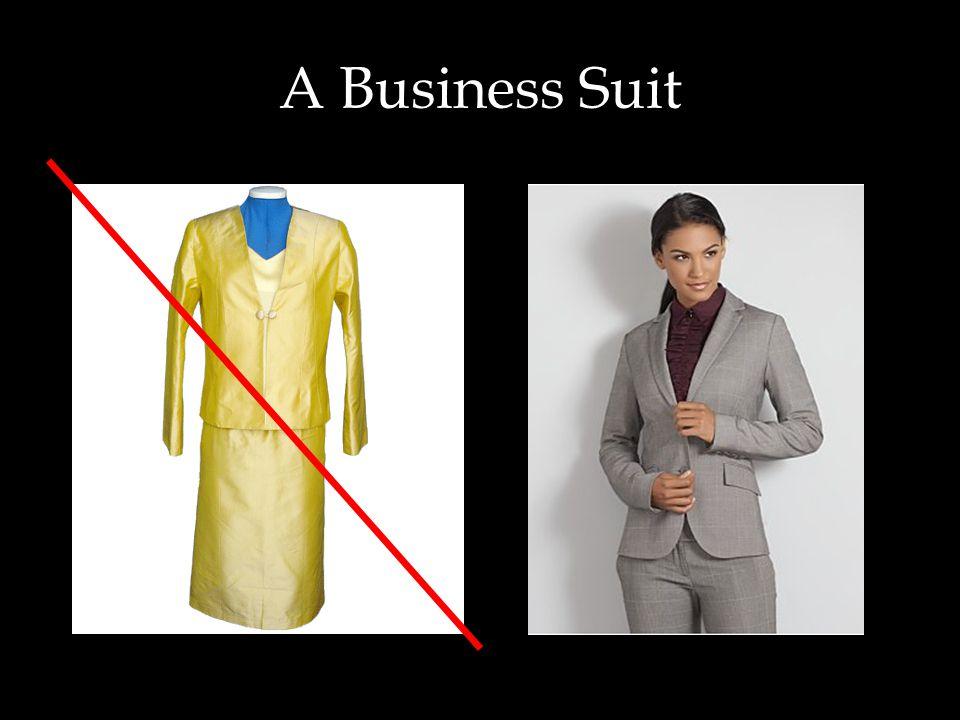 A Business Suit