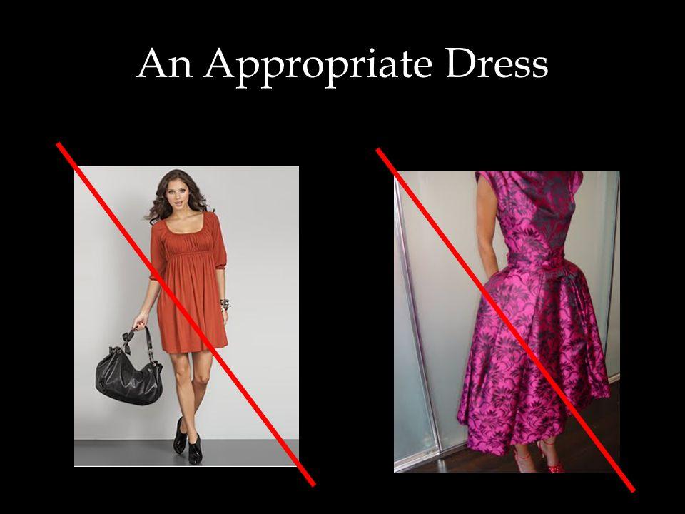 An Appropriate Dress