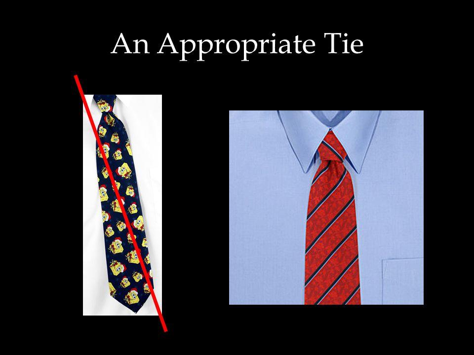An Appropriate Tie