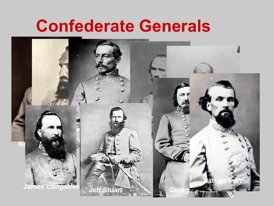 Confederate Generals Albert S. Johnston Stonewall Jackson