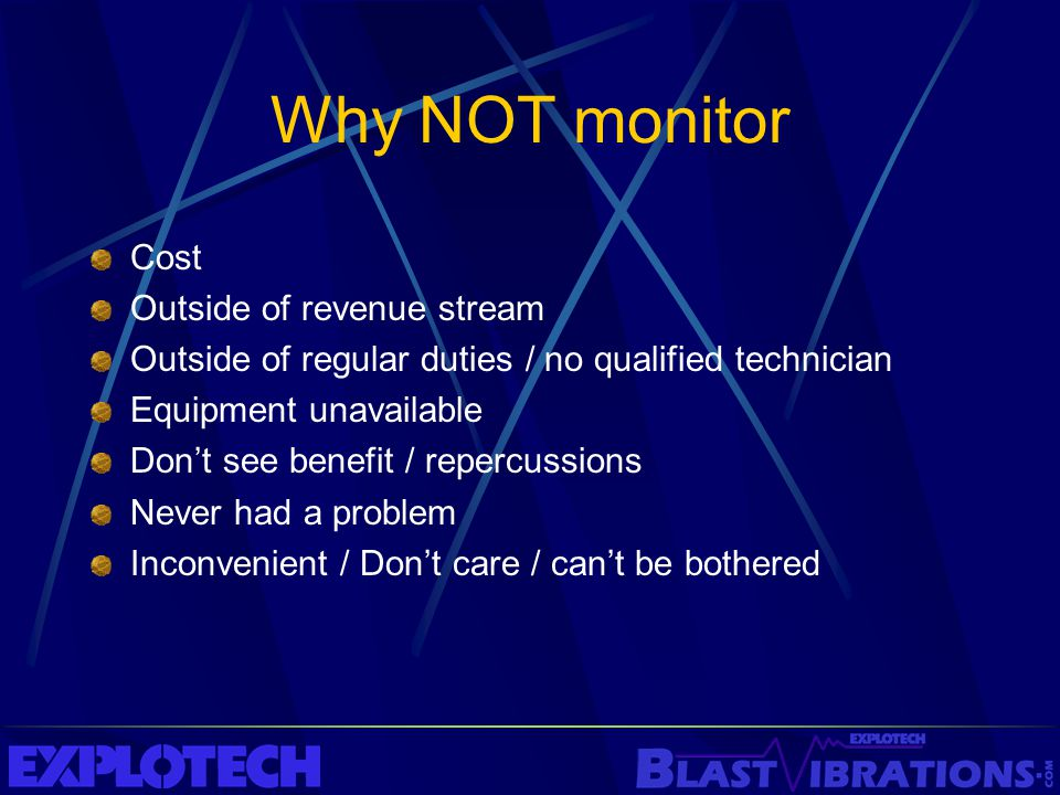 Why NOT monitor Cost Outside of revenue stream