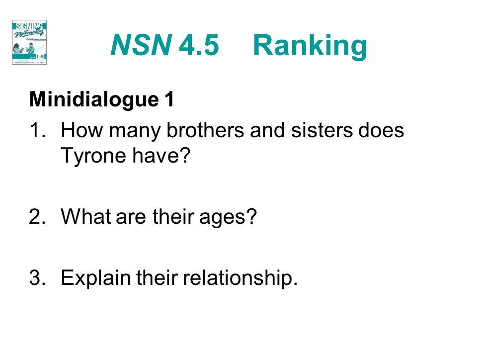 NSN 4.5 Ranking Minidialogue 1