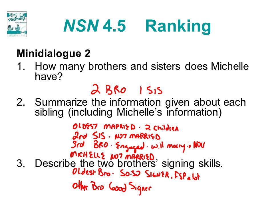 NSN 4.5 Ranking Minidialogue 2