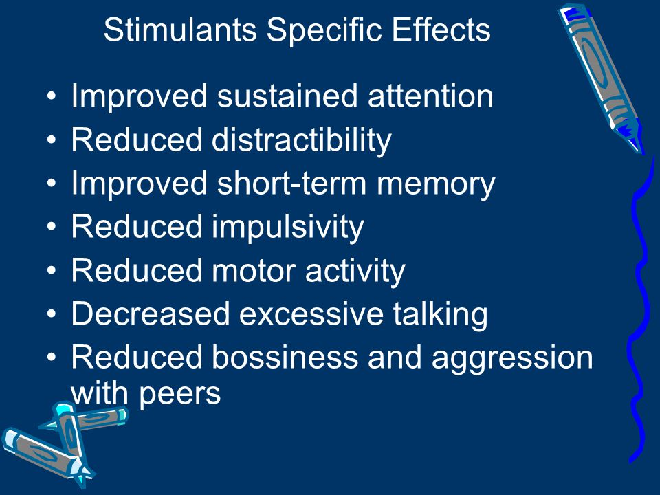 Stimulants Specific Effects