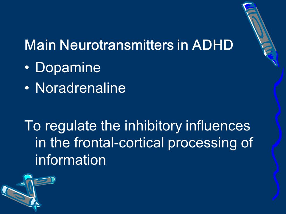 Main Neurotransmitters in ADHD