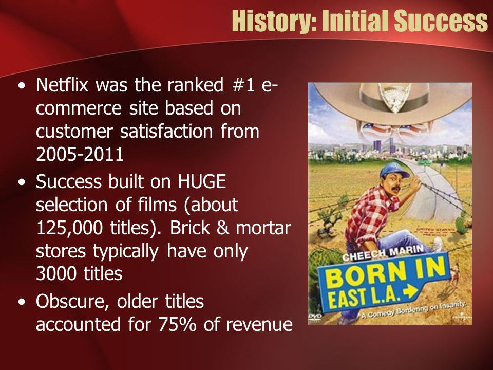 History: Initial Success