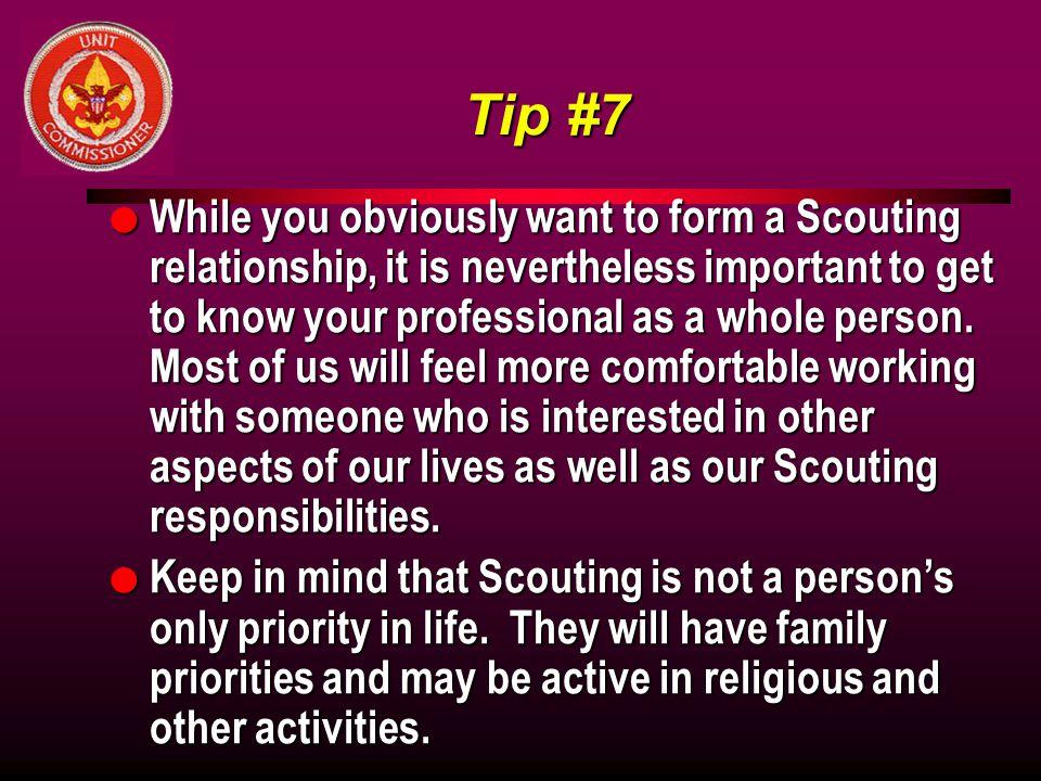 Tip #7