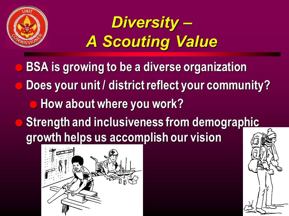 Diversity – A Scouting Value