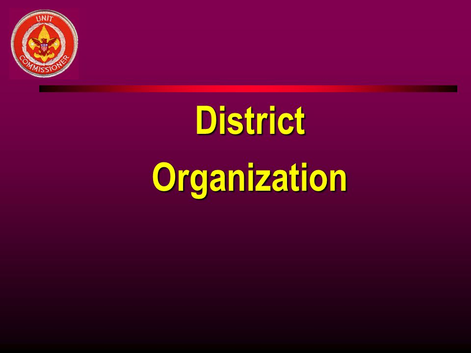 District Organization