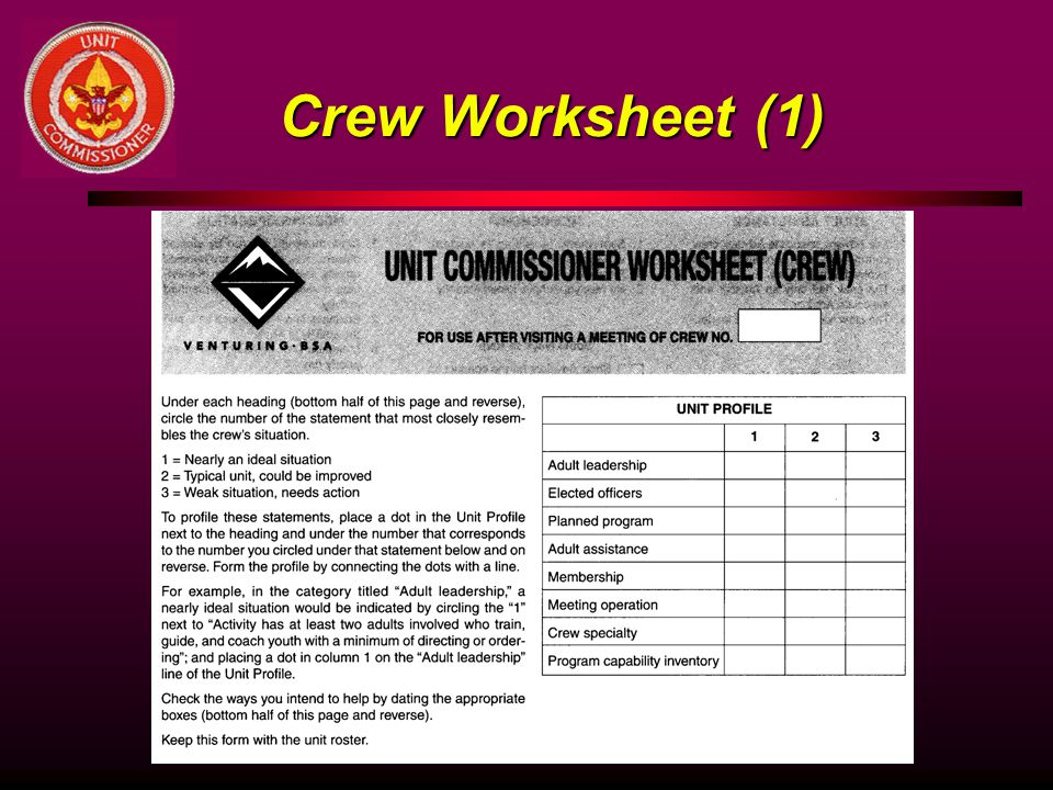 Crew Worksheet (1)