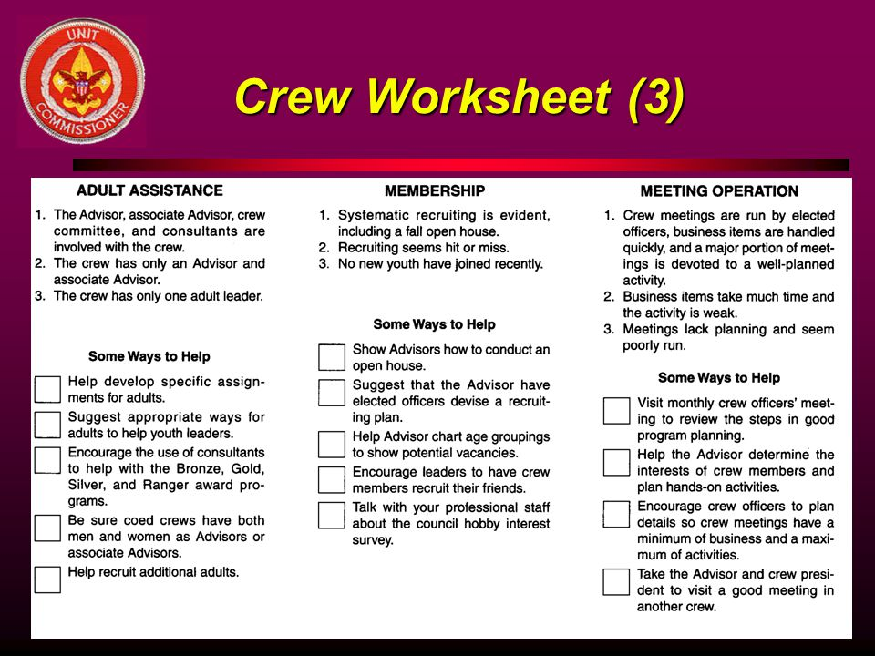 Crew Worksheet (3)