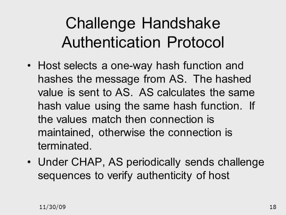 Challenge Handshake Authentication Protocol